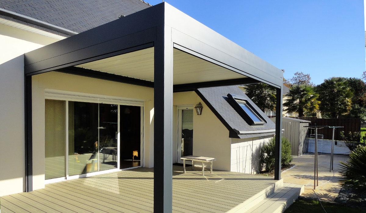 Terrasse en composite